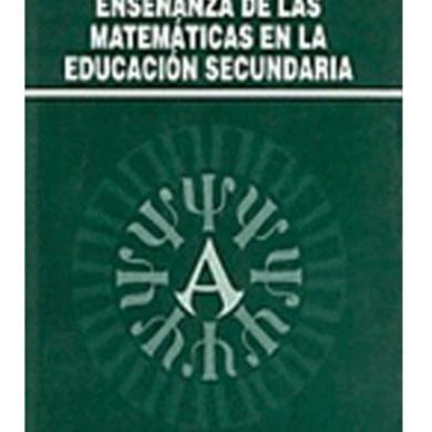 Enseñanza de las matemáticas en la educación secundaria