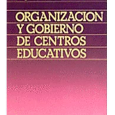 Organización y Gobierno de Centros Educativos