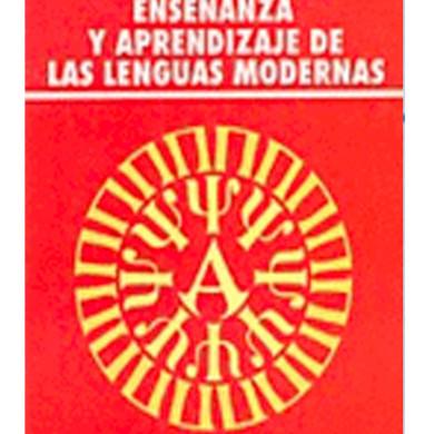 Enseñanza y Aprendizaje de las Lenguas Modernas